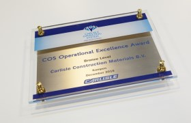COS Award | Carlisle Construction Materials B.V.